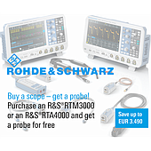 "What is the ""Buy a scope – get a probe"" promotion?"