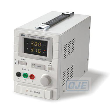 ADJUSTABLE DC POWER SUPPLY QJ3003XE (0 ~ 30V/0~3A)