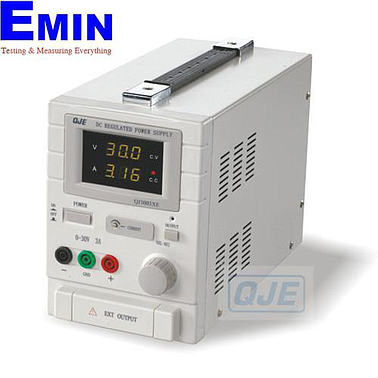 QJE QJ3003XE ADJUSTABLE DC POWER SUPPLY (0 ~ 30V/0~3A)
