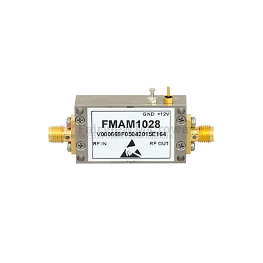 Fairview FMAM1028 0 7 dB NF Low Noise Amplifier Operating