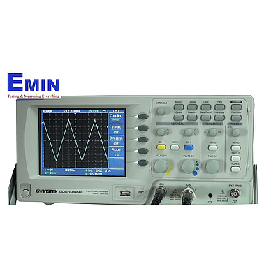 Digital Oscilloscopes GWinstek GDS-1052U (50Mhz, 2 Channel)