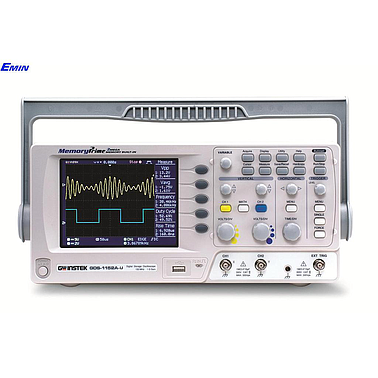 GWinstek GDS-1072A-U Digital Oscilloscopes (70Mhz, 2 CH,1Gsa/s)