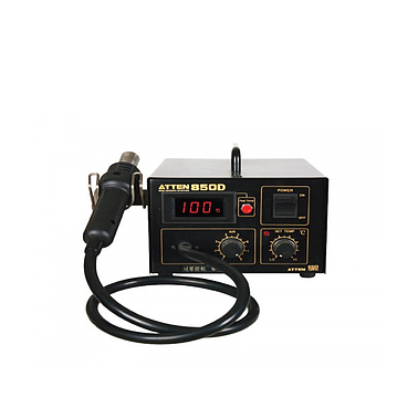 Atten AT850D Hot Air Rework Station (Diaphragm Pump+Timing function)