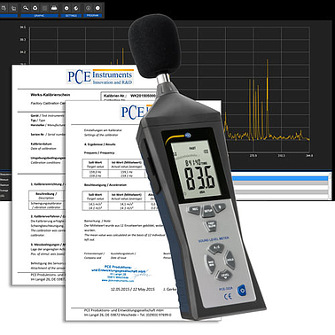 PCE-322ALEQ-ICA Noise Dose Meter (30~130 dB) - EMIN ASIA