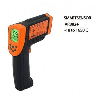 Smartsensor AR882+ Infrared Thermometer (-18~1650℃; ±2℃)
