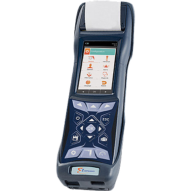 E Instruments E4500-S Combustion Gas and Emissions analyzer (O2, CO, NO, NOx, CO2, SO2)